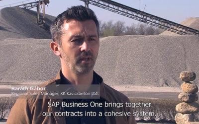 Ügyfeleink az SAP B1-ról